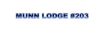 Munn Lodge No.203 F&AM